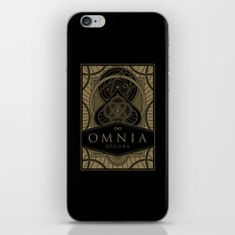 Omnia Oscura tuck box iPhone Skin
