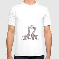 Love Spots Mens Fitted Tee White MEDIUM