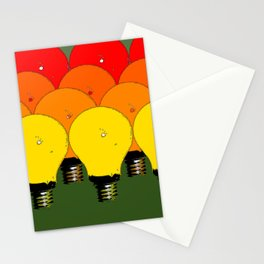 LIGHTBULBS 1 Stationery Cards