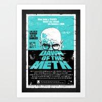 Dawn of The Meth (Breaking Bad, Heisenberg) Art Print