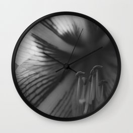 Botanical Gardens Black Orchid #718 Wall Clock