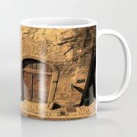 door Mugs featuring door by Crazy Thoom