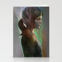 artgerm Stationery Cards featuring The last hope by Artgerm™