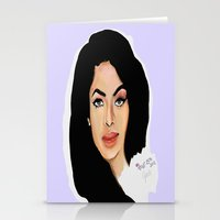 aaliyah Stationery Cards featuring Aaliyah remembered  by Catheriney