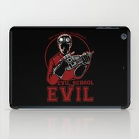 evil iPad Cases featuring Evil School of Evil by Crumblin' Cookie