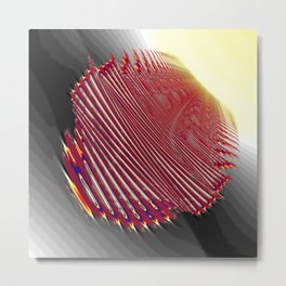 fingerprint for a new life Metal Print