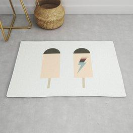 november ice cream Rug