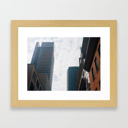 Downtown Toronto Framed Art Print