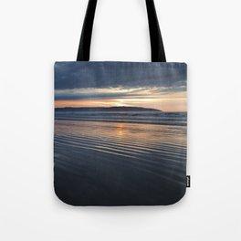 Benone Beach - Sunset Tote Bag