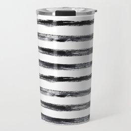 Grungy stripes Travel Mug