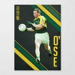 GAA Posters – Tomas O'Se Canvas Print