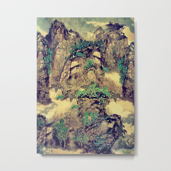 The Hills of Yunnan Metal Print