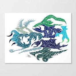 Aquatilium Vision Canvas Print
