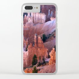 Bryce National Park Clear iPhone Case