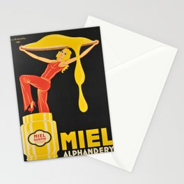 manifesto miel alphandery 1930 Stationery Cards