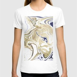 UltraViolet Gold Marble T-shirt