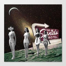 Sands Motel Canvas Print