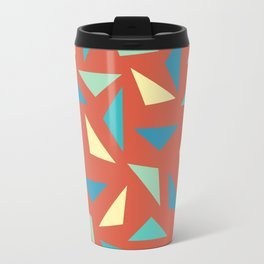 circular triangular Travel Mug