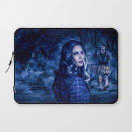 Charumati - the Purple-Eyed Werewolf Laptop Sleeve