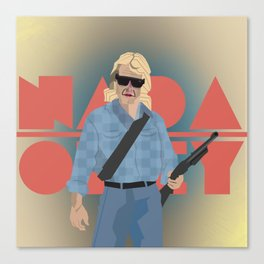 "Carpenter Series: Nada ""They Live"" Canvas Print"