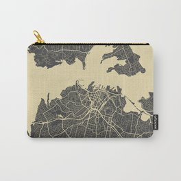Auckland Map Carry-All Pouch