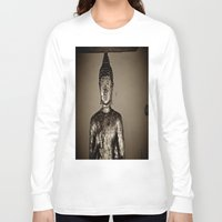 meditation Long Sleeve T-shirts featuring Meditation by Joëlle
