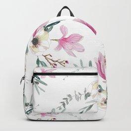 Floral Square Backpack