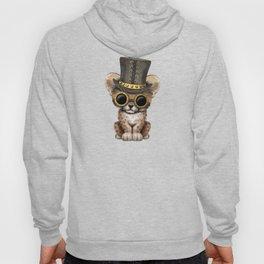 Steampunk Baby Cheetah Cub Hoody