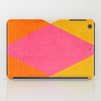 triangles iPad Cases featuring summer triangles by her art