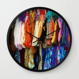 Gypsy Rags and Ruffles Wall Clock