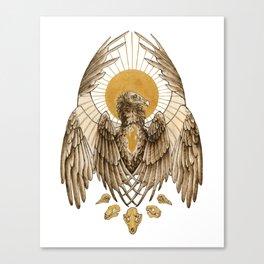 Unsung Saint: Cathartes Aura Canvas Print
