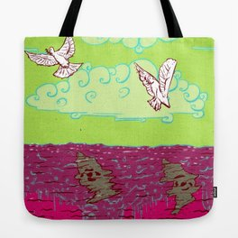 Peace & War Tote Bag