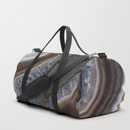 "Agate crystal texture #2 ""more detail"" Duffle Bag"