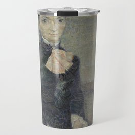 Portrait of Léonie Rose Charbuy-Davy Travel Mug