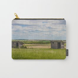 Outhouses at Christiania Township School, North Dakota 1 Carry-All Pouch