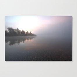 Misty Arrow Canvas Print