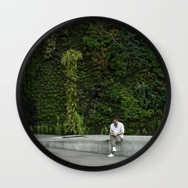 Nature in Madrid Wall Clock