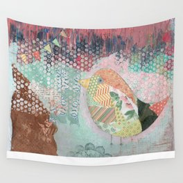 Bird Party Wall Tapestry