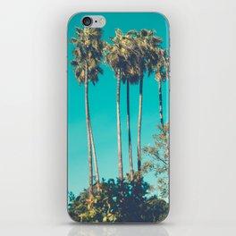 Retro Vintage Looking California Palm trees iPhone Skin