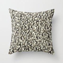 Mega Putin Collage Throw Pillow