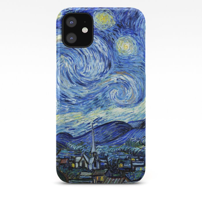 The Starry Night Vincent Van Gogh Iphone Case By Maryedenoa