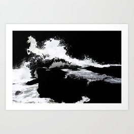 We all come from the sea Art Print