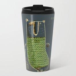 Beary good Metal Travel Mug
