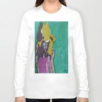 lip Long Sleeve T-shirts featuring Lip Sync by Stephon Daniels