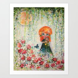 The Secret Garden Art Print
