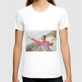 holy river flows happily T-shirt