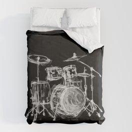 Black Drums Comforters
