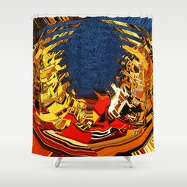 Lakefront Living Shower Curtain