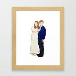 Dr. & Dr. FitzSimmons Framed Art Print