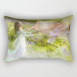 Bluebell Fairy Rectangular Pillow